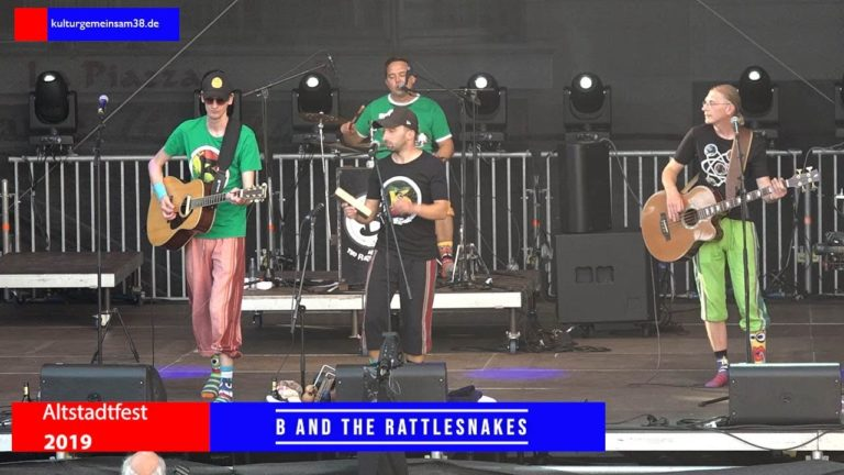B and the Rattlesnakes auf dem Altstadtfest Gifhorn 2019