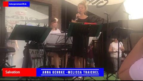 """The A-Team Anna Gehrke und Melissa Traichel mit """"Salvation"""""""