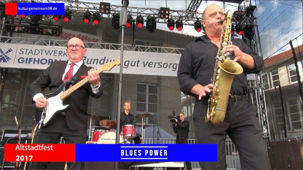 Bluespower auf dem Altstadtfest Gifhorn 2017