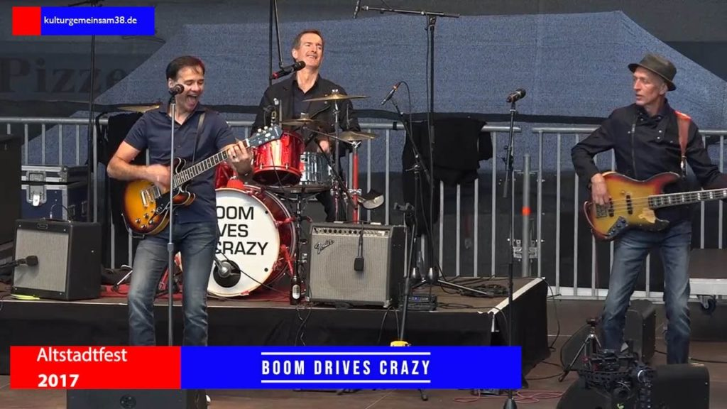 Boom Drives Crazy auf dem Altstadtfest in Gifhorn 2017