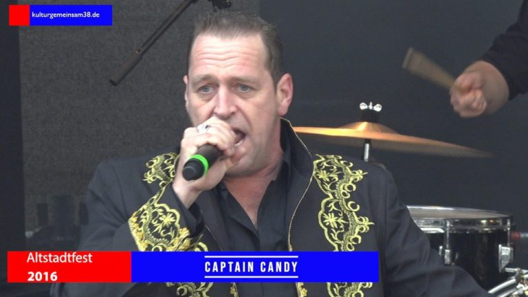 Captain Candy beim Altstadtfest Gifhorn 2016