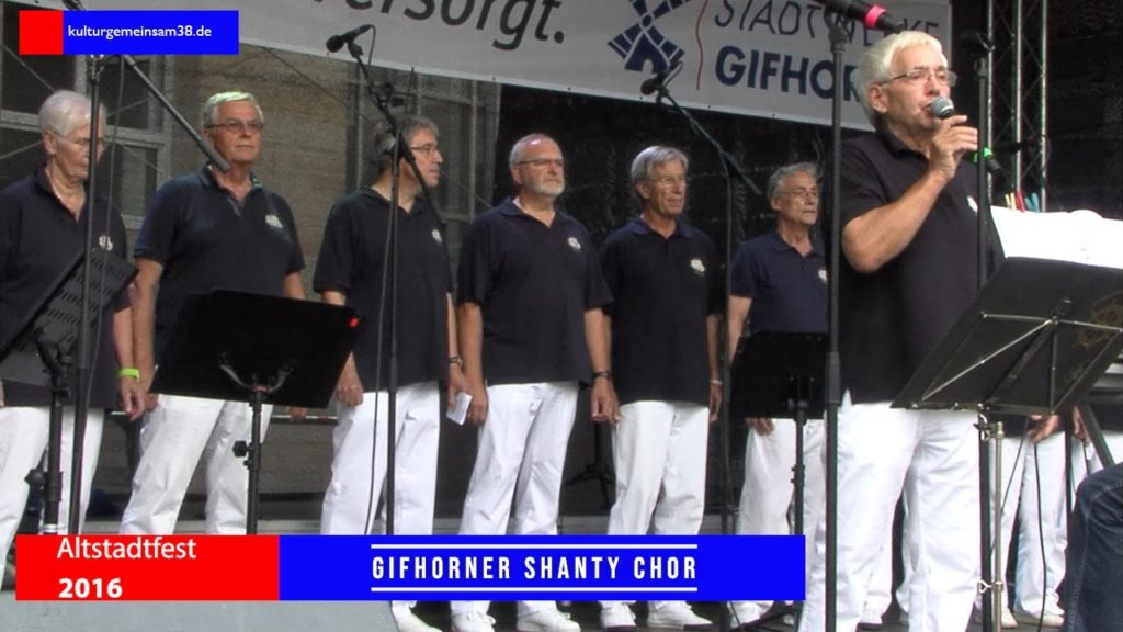 Gifhorner Shanty Chor auf dem Altstadtfest Gifhorn 2016
