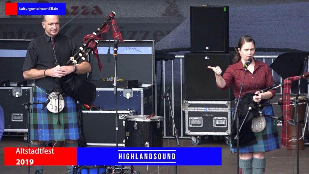 Highland Sound auf dem Altstadtfest Gifhorn 2017