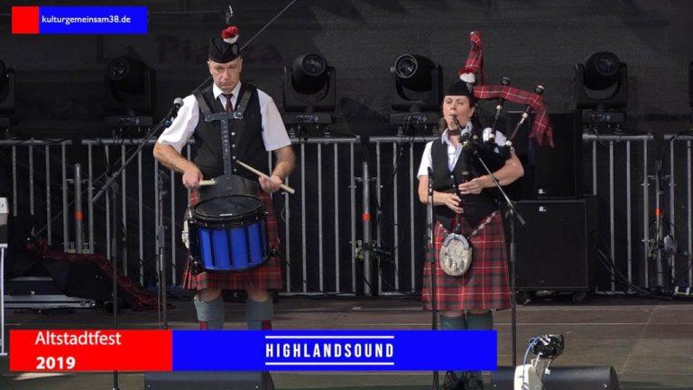 Highland Sound auf dem Altstadtfest Gifhorn 2019