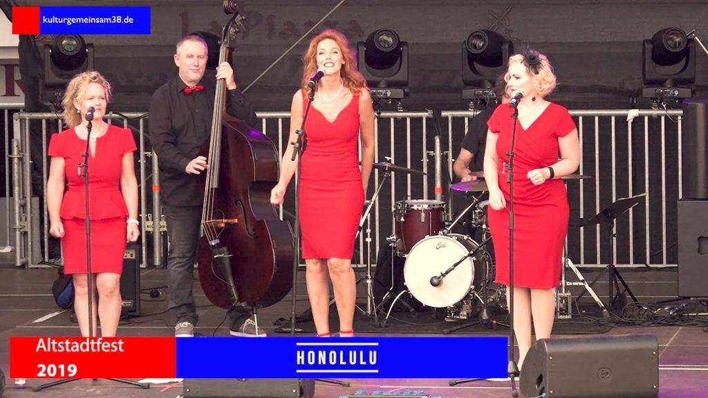 Honolulu Quartett auf dem Altstadtfest Gifhorn 2016
