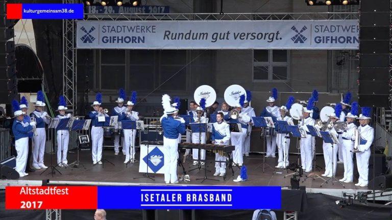 Isetaler Brass Band auf dem Altstadtfest Gifhorn 2017