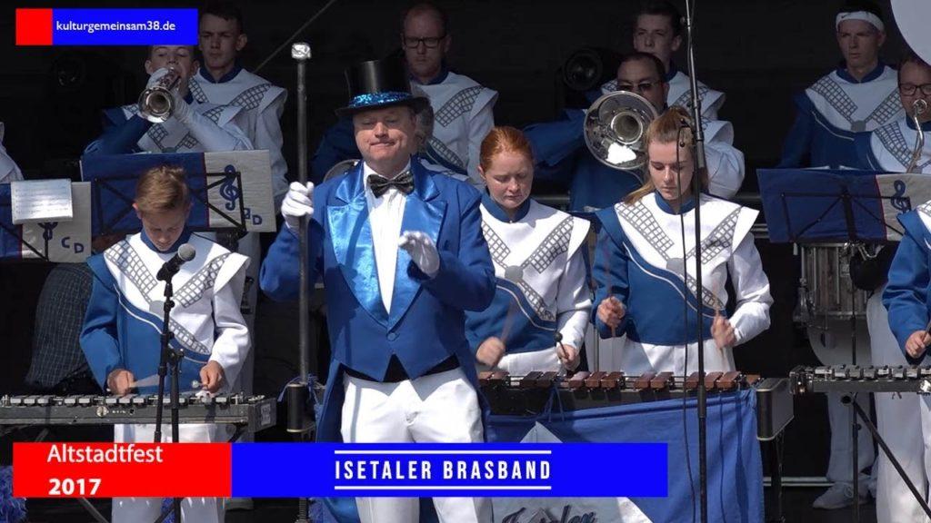 Isetaler Brass Band auf dem Altstadtfest Gifhorn 2019