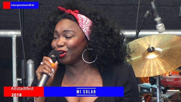Mi Solar auf dem Altstadtfest Gifhorn 2018