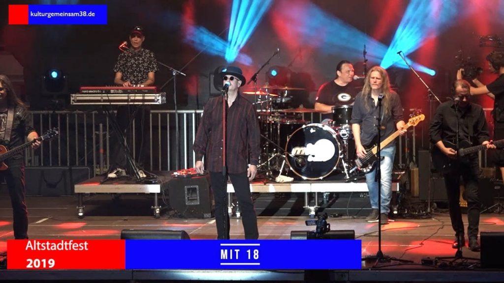 Die mit18band auf dem Altstadtfest Gifhorn 2019