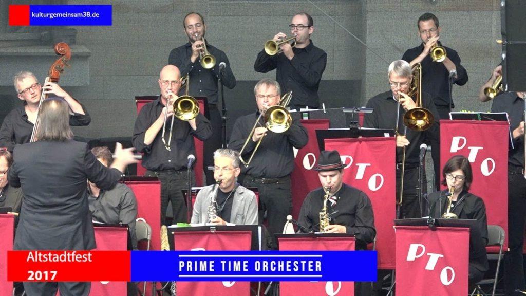 Prime Time Orchestra auf dem Altstadtfest Gifhorn 2017
