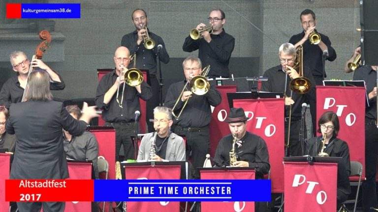 Prime Time Orchestra auf dem Altstadtfest Gifhorn 2017