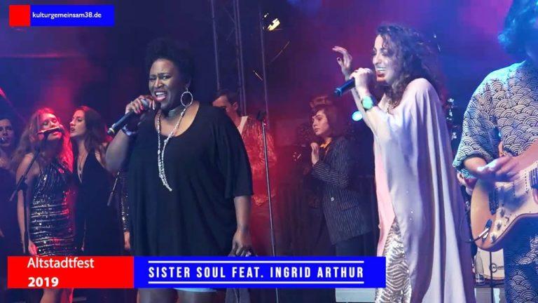 Sister Soul & Friends feat. Ingrid Arthur auf dem Altstadtfest Gifhorn 2019