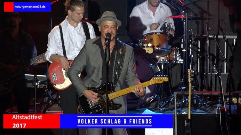 Volker Schlag & Friends auf dem Altstadtfest Gifhorn 2017