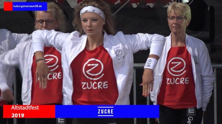 Zucre Dancecrew auf dem Altstadtfest Gifhorn 2019